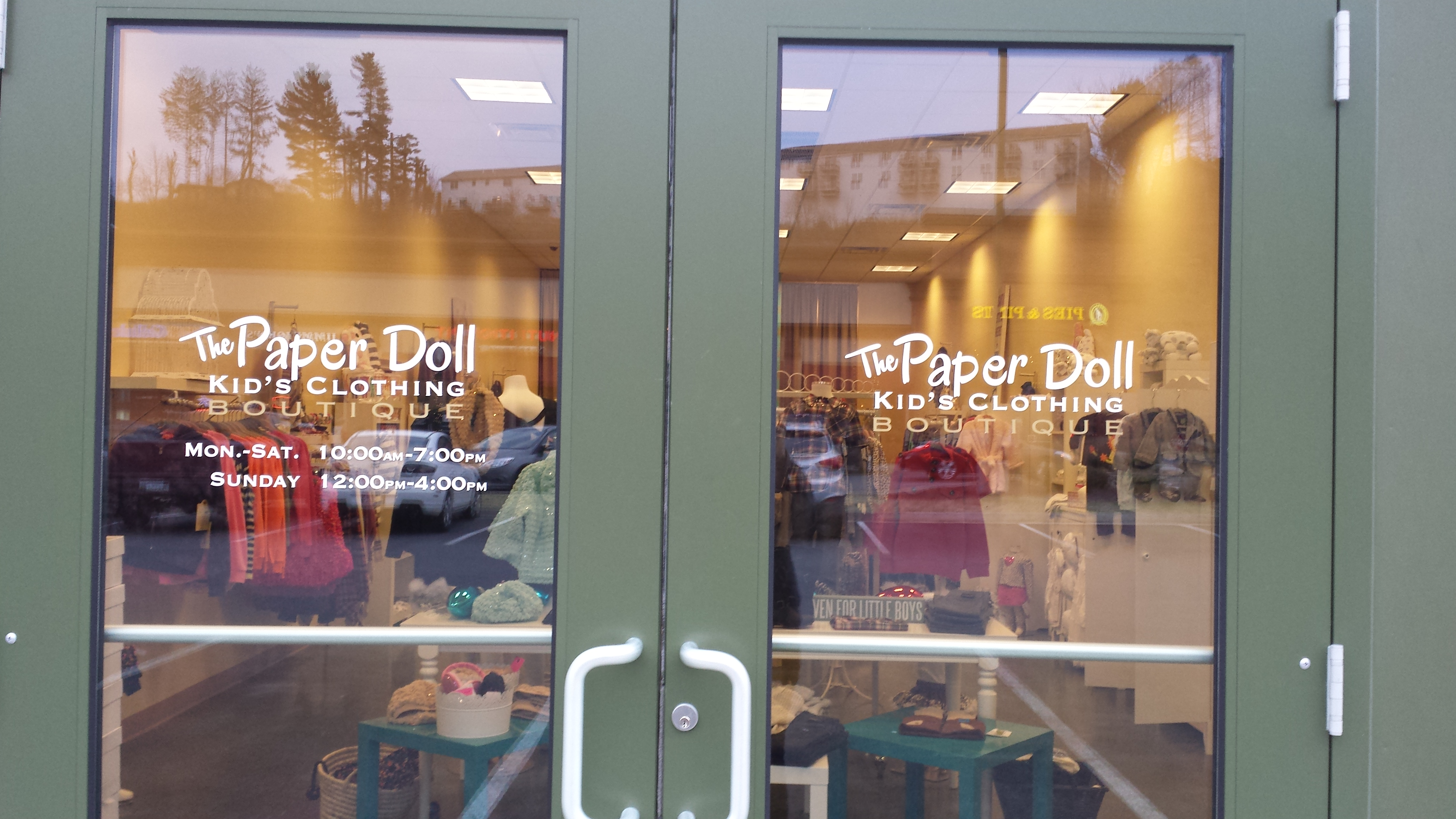 discuss door your project bend window a and lets shop decals work or doors signs confluence next our in sign dealin